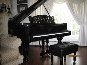 Steinway Grand Piano Restored, Miller Place